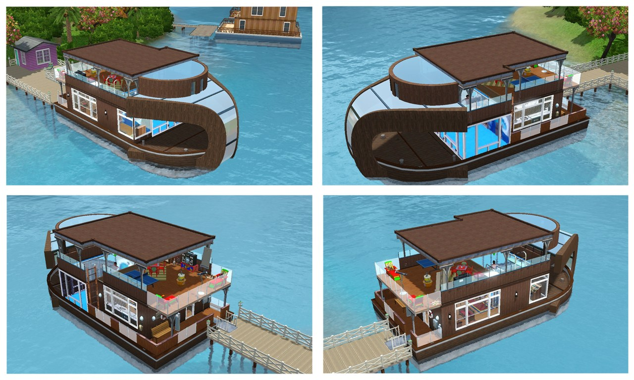 how to create nicely curved pool sims 3