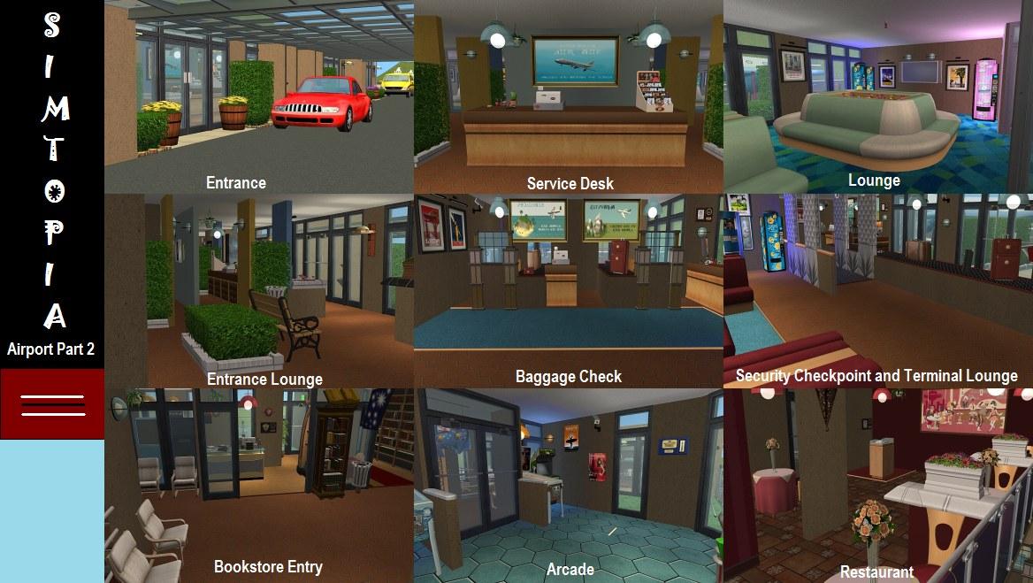 Mod The Sims Simtopia Community Set 3 Simtopia