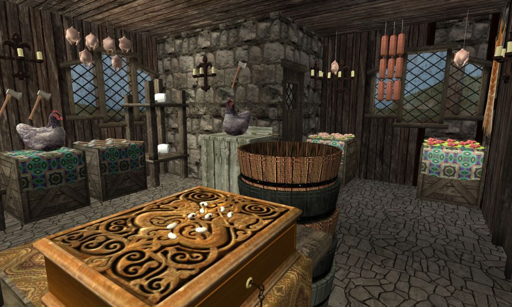 Sims 4 Wooden Bathtub