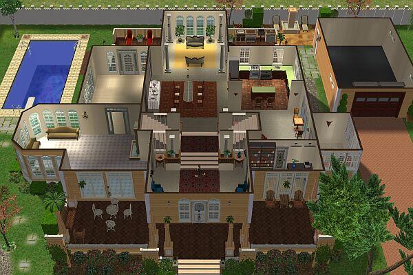 Plan Maison Gabrielle Solis