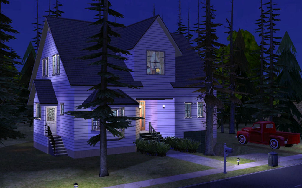 Mod the sims twilight bella swan 39 s house for Twilight house price