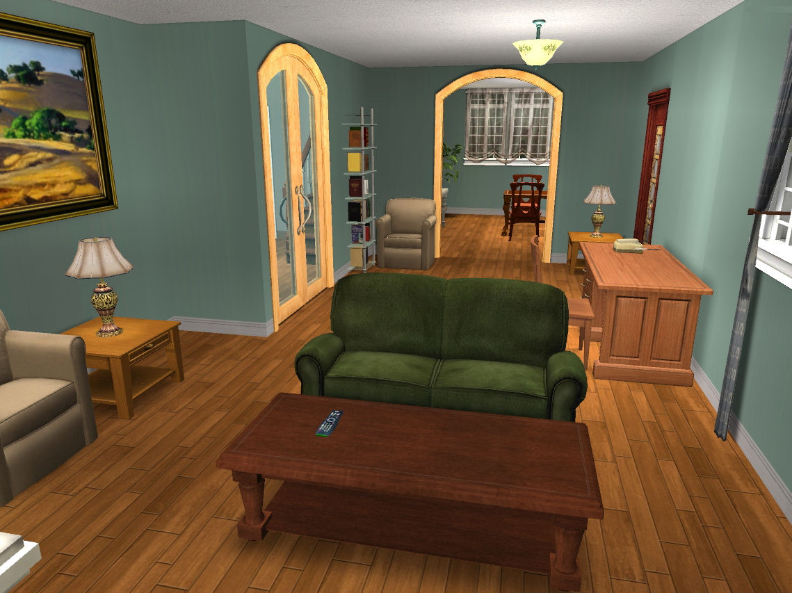 Mod the sims twilight bella swan 39 s house base game for Twilight house price