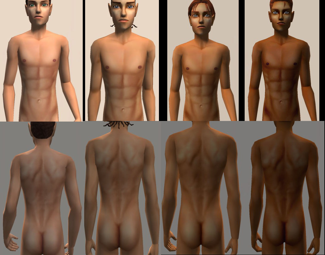 Patch nude sims 2.
