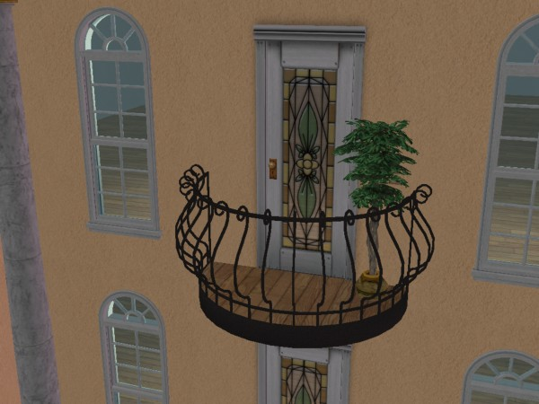 Mod the sims featured creator moon ez for Sims 4 balcony