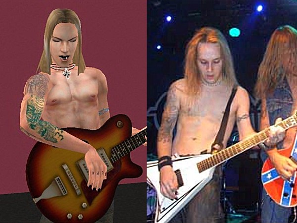 Mod The Sims - Alexi Laiho - Children of Bodom