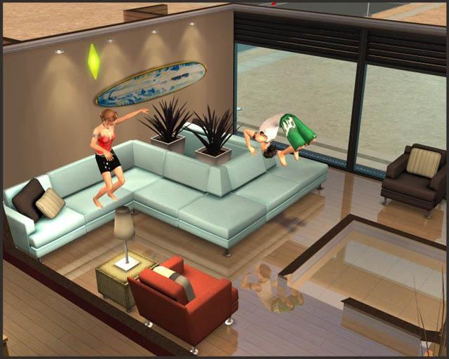 Mod The Sims Dana Modular Sofa