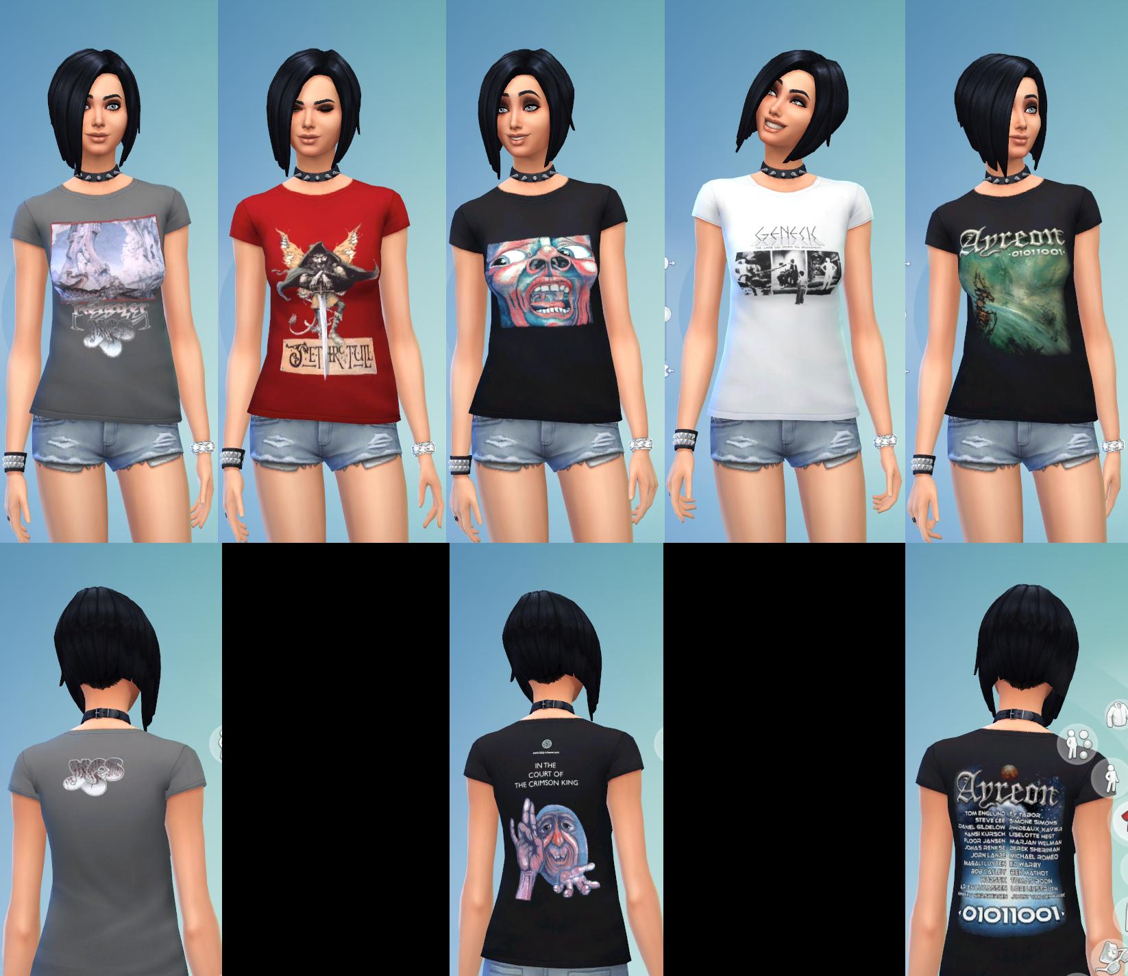 Sims 4 Cc Shirts Rldm
