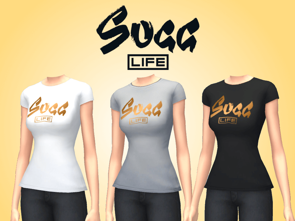 "Mod The Sims - ""Sugg Life"" Merchandise"