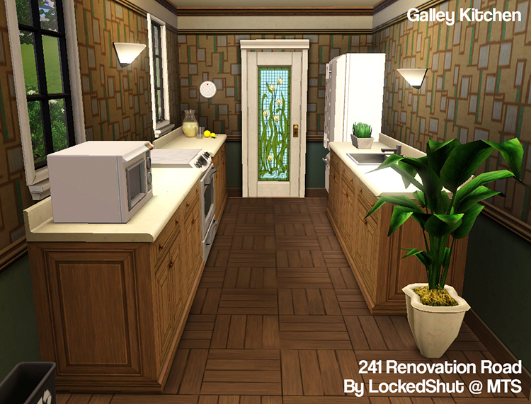 Mod the sims 241 renovation road for Expanding a galley kitchen