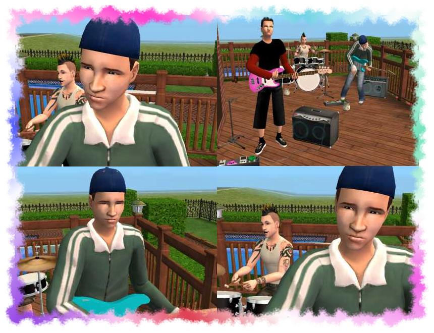 Mod The Sims - Tom Delonge (Blink 182)
