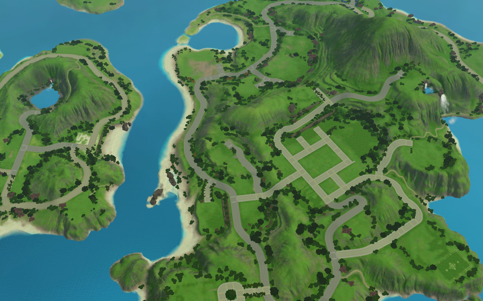 Every World In The Sims 4 Remade By Lilsimsie – Dibujos Para Colorear