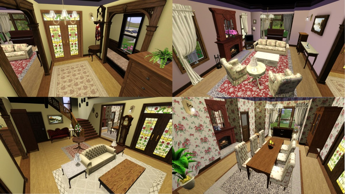 Mod The Sims Halliwell Manor Charmed No CCStore