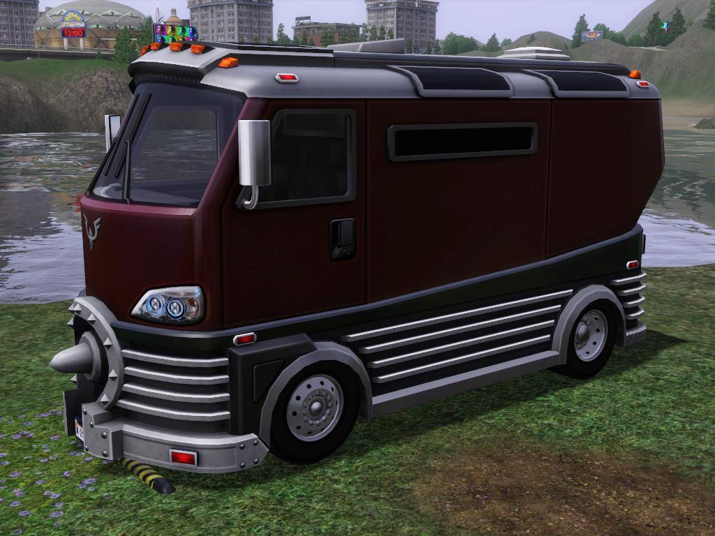 Mod The Sims - Buyable & Driveable Ice Cream Truck & Animal