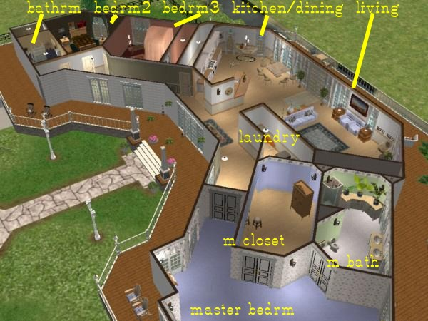 Click Image For Larger Version Name CeeCees Country Castle