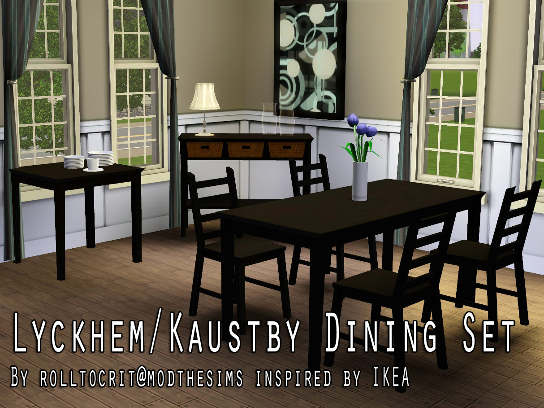 Mod The Sims Lyckhem Kaustby Dining Set