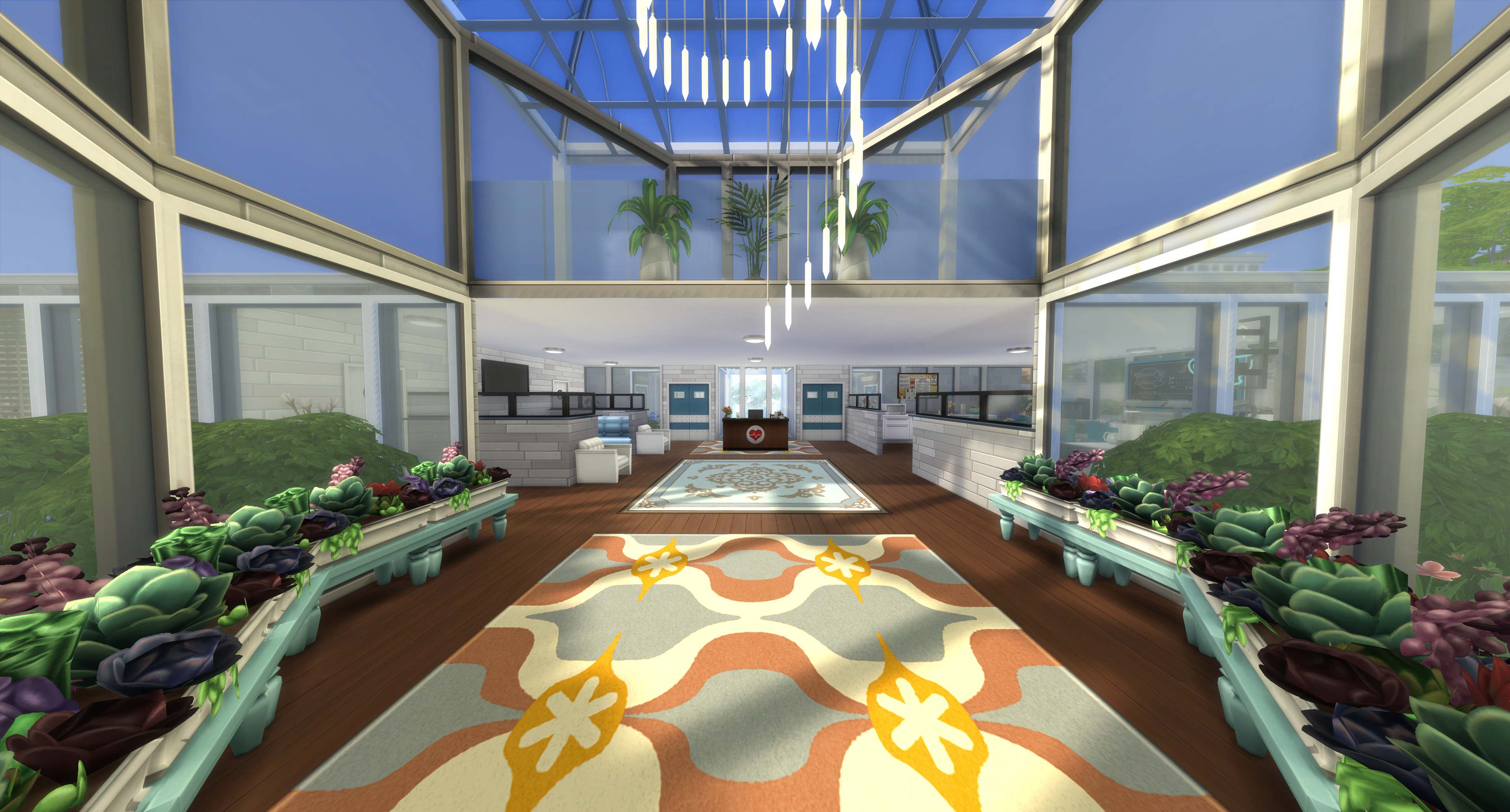 Sims 4 Mod Hospital by chicagonative