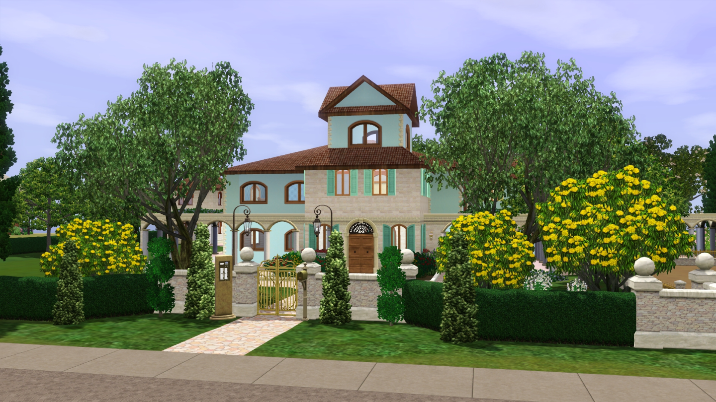 ModTheSims - Happening Hacienda (No CC)
