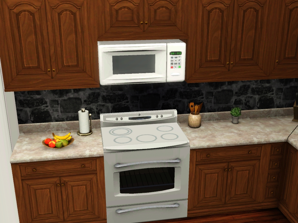 mod the sims above range microwave. Black Bedroom Furniture Sets. Home Design Ideas