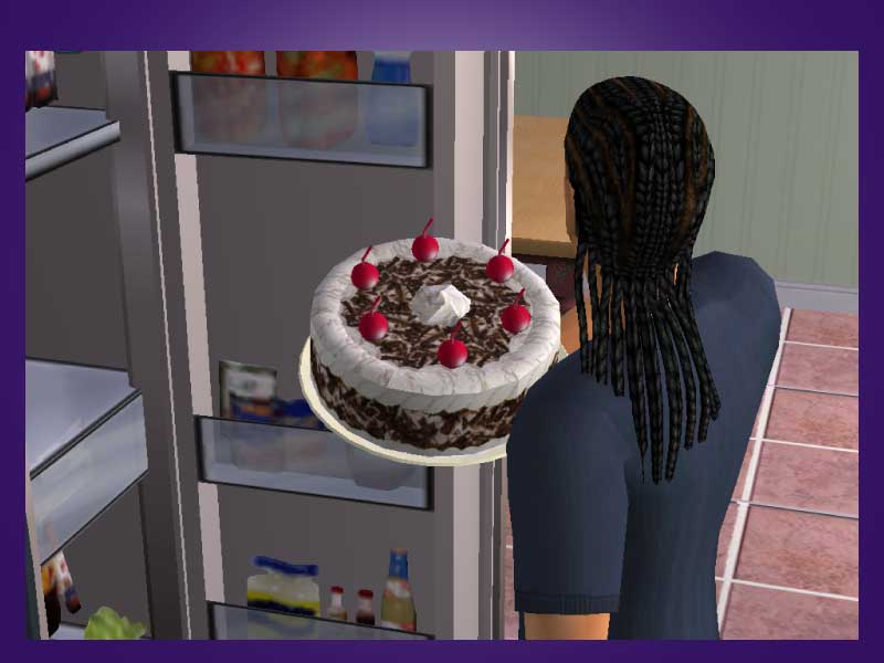 Mod The Sims Af Requests 20 Portal Cake Amp Black Forest Cake