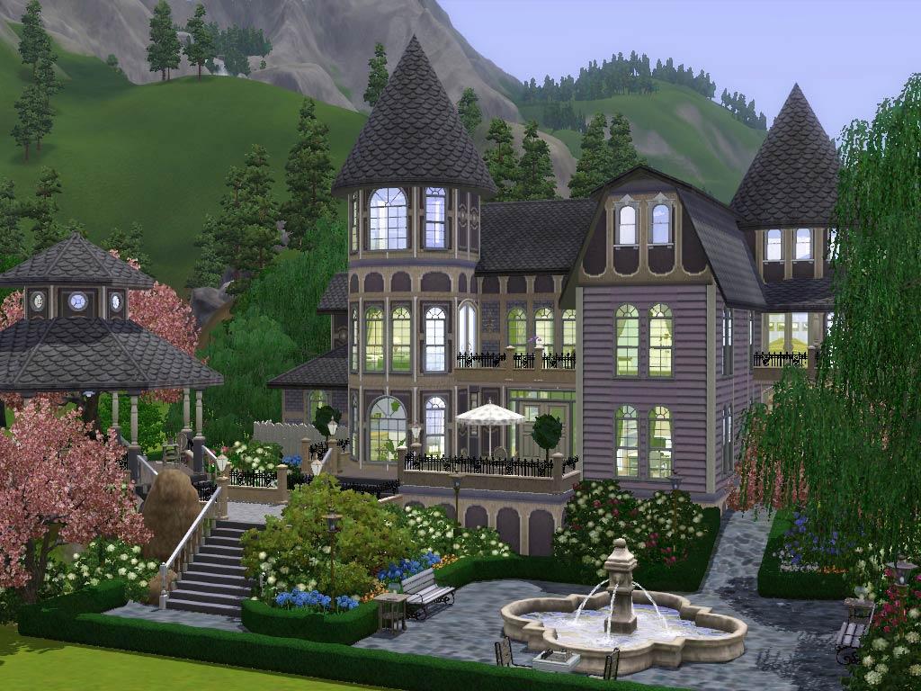 Mod The Sims Wisteria Hill A Grand Victorian Estate