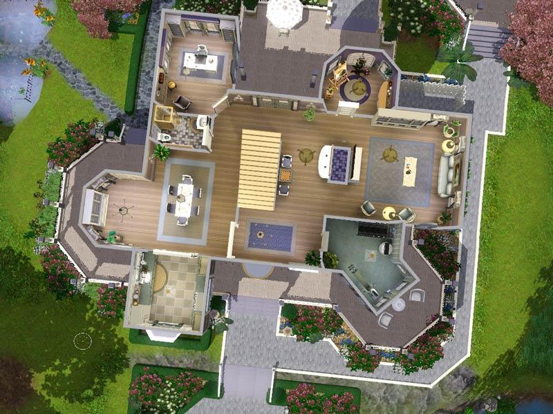 mod the sims - wisteria hill: a grand victorian estate