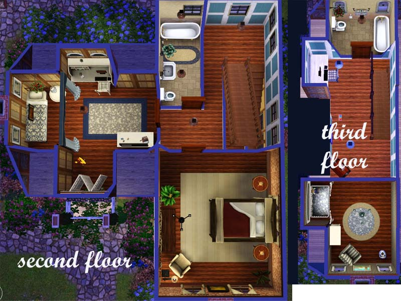 Mod The Sims French Country Farm House