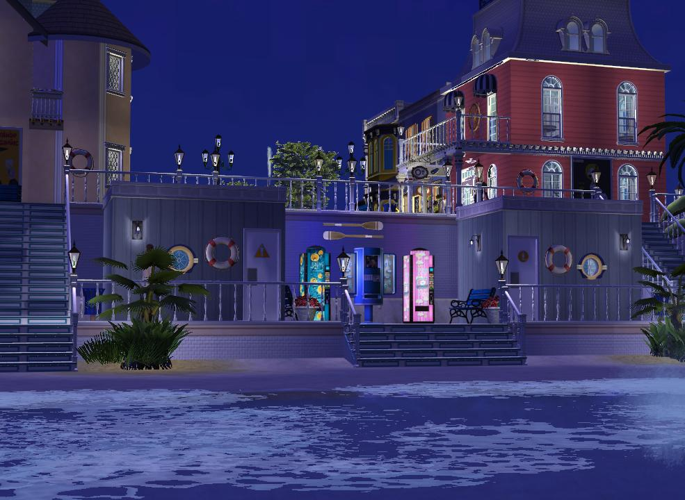 Mod The Sims - Victorian Boardwalk- shopping and