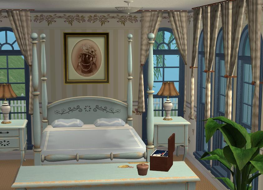 Mod the sims hillcrest manor a 6 bedroom victorian mansion for Rooms in a victorian mansion