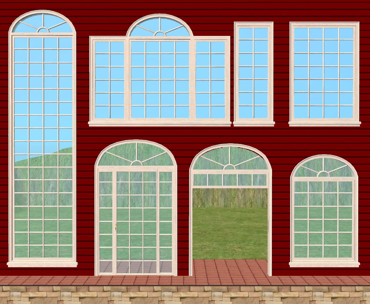 Mod the sims re do la fen tre window expansion set for Fenetre windows