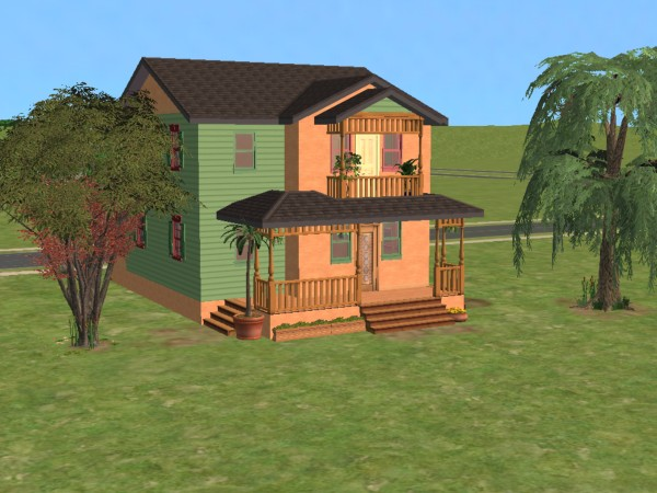sims 4 how to change porch fences above