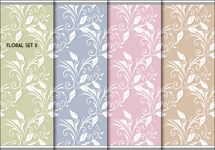floral wallpaper. Floral Wallpaper Sets - 4