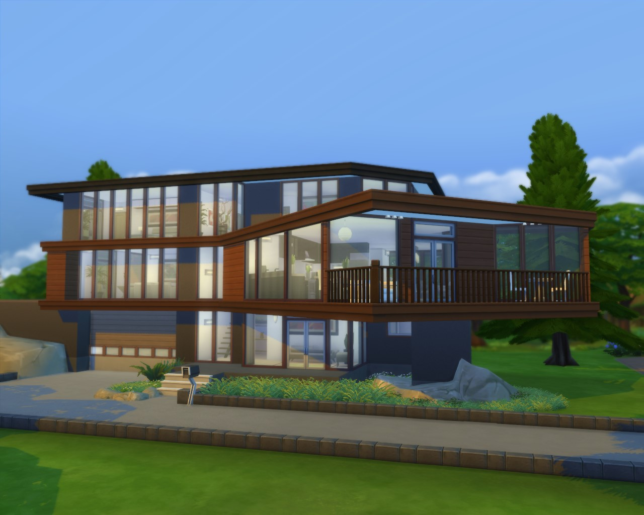 Mod the sims cullen house for Twilight cullen house