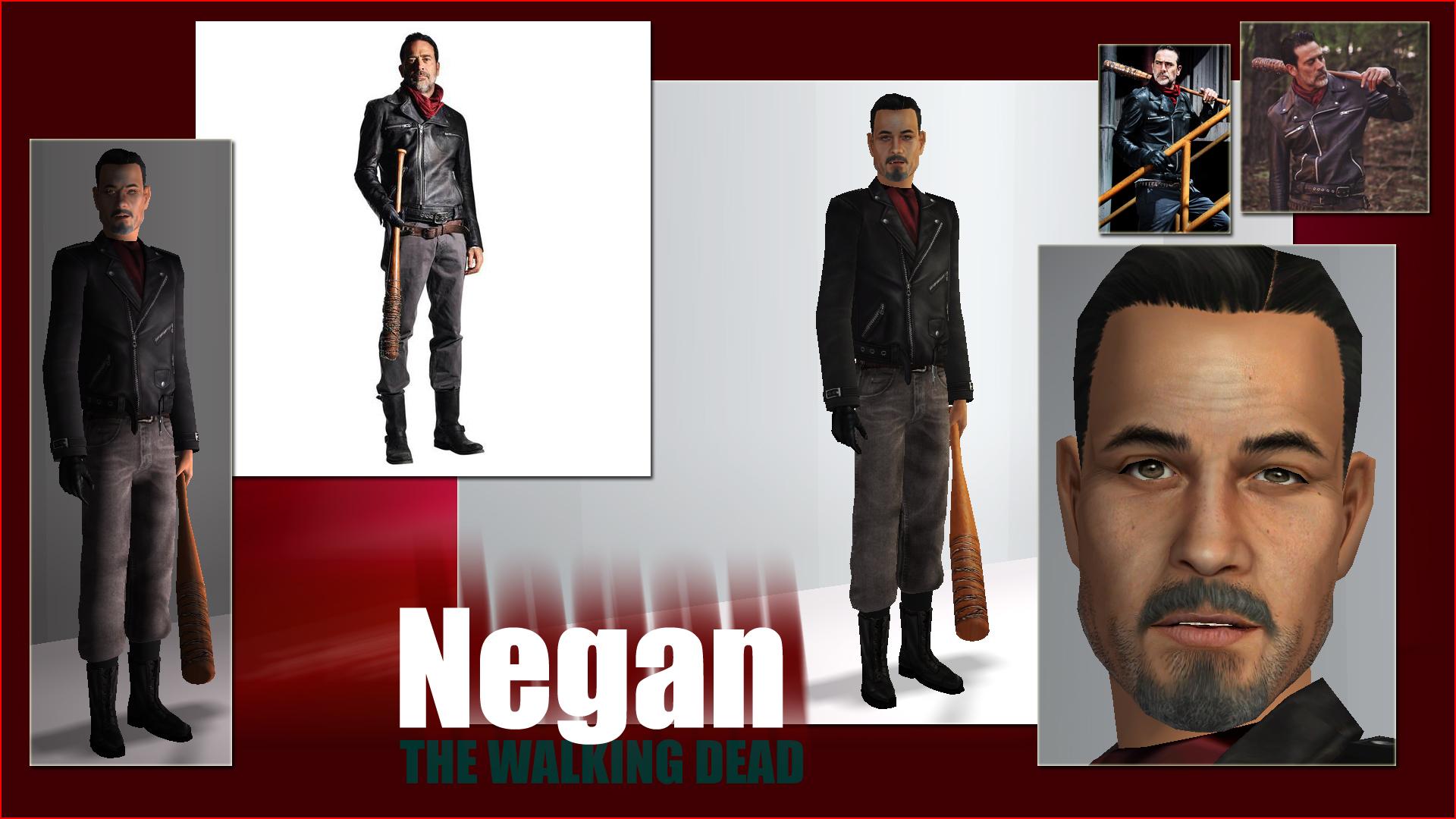 ModTheSims - The Walking Dead : NEGAN