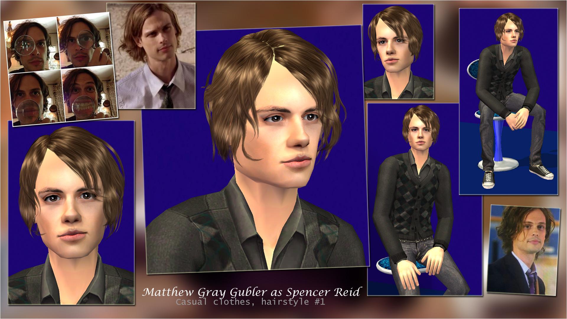 Mod The Sims - Criminal Minds :: Dr  Spencer Reid