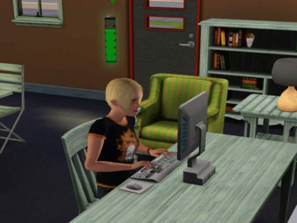 HOW TO WRITE A ROMANCE NOVEL IN SIMS 3