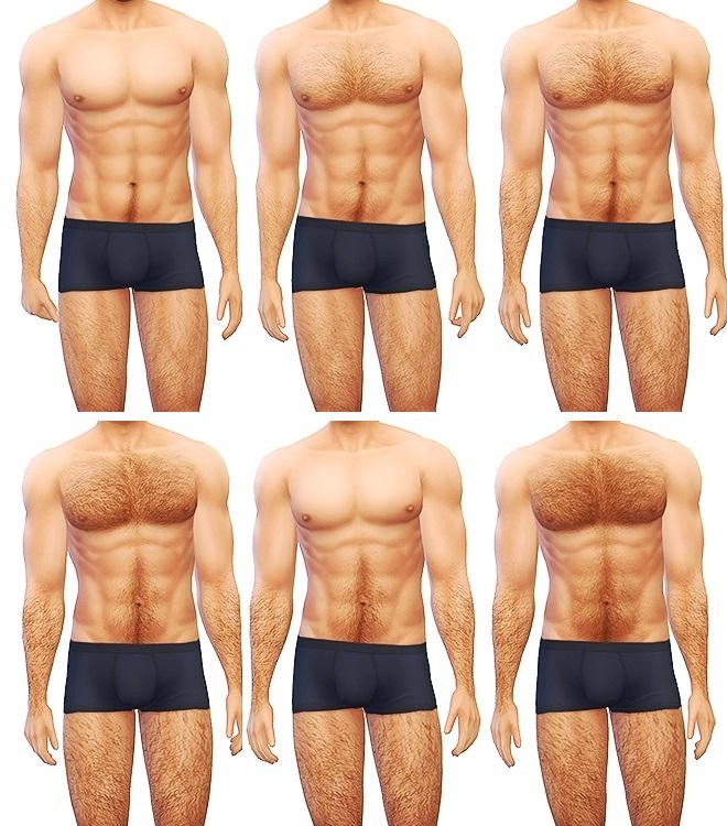 Mod the sims body hair v4