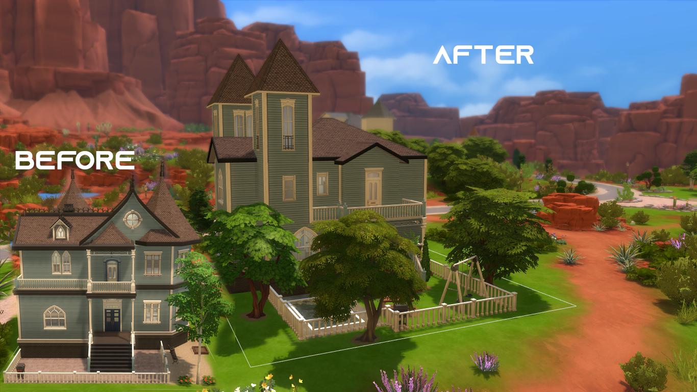 Mod The Sims - Strangerville renew #10   Dream Weavers Way   NO CC