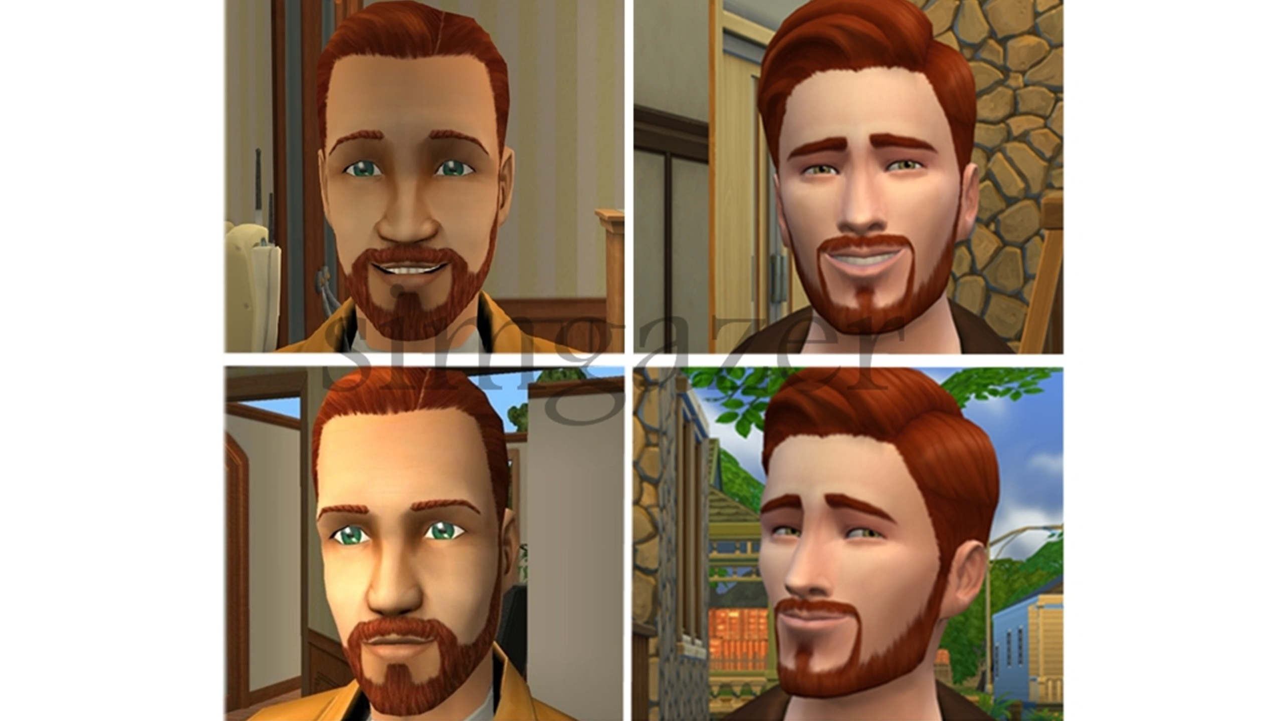 Mod The Sims - Sims 2 to Sims 4 - Pleasant Family (No CC)