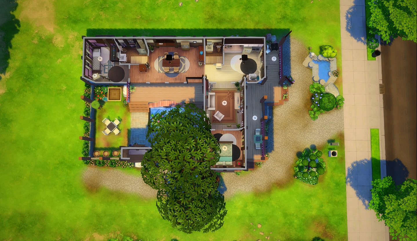 Mod The Sims Hanok House No Cc