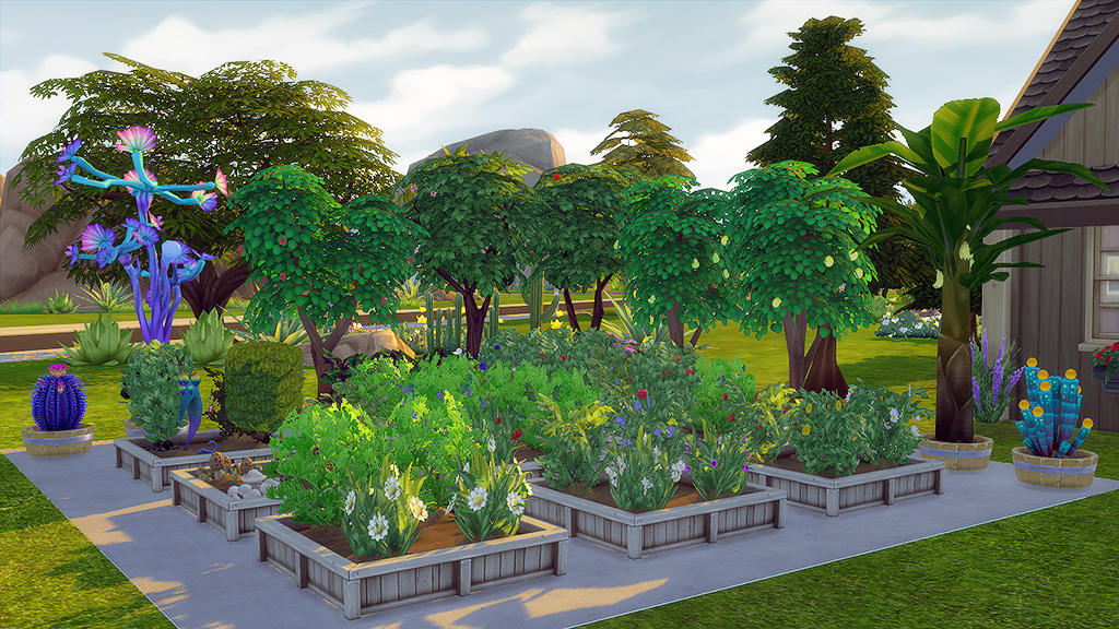Mod the sims green thumb talks perfect gardening for Indoor gardening sims 4
