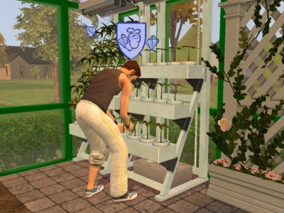 Home for Indoor gardening sims 4