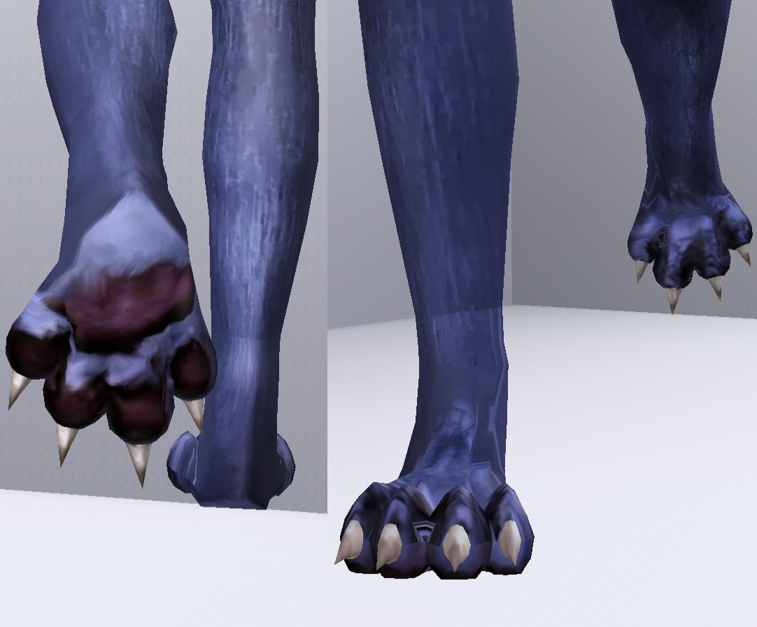Mods Sims  Shoes Cat Paws