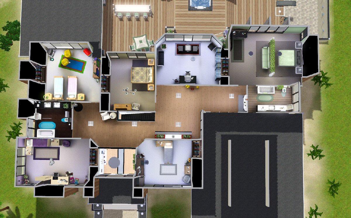 Mod The Sims - Modern Beach House