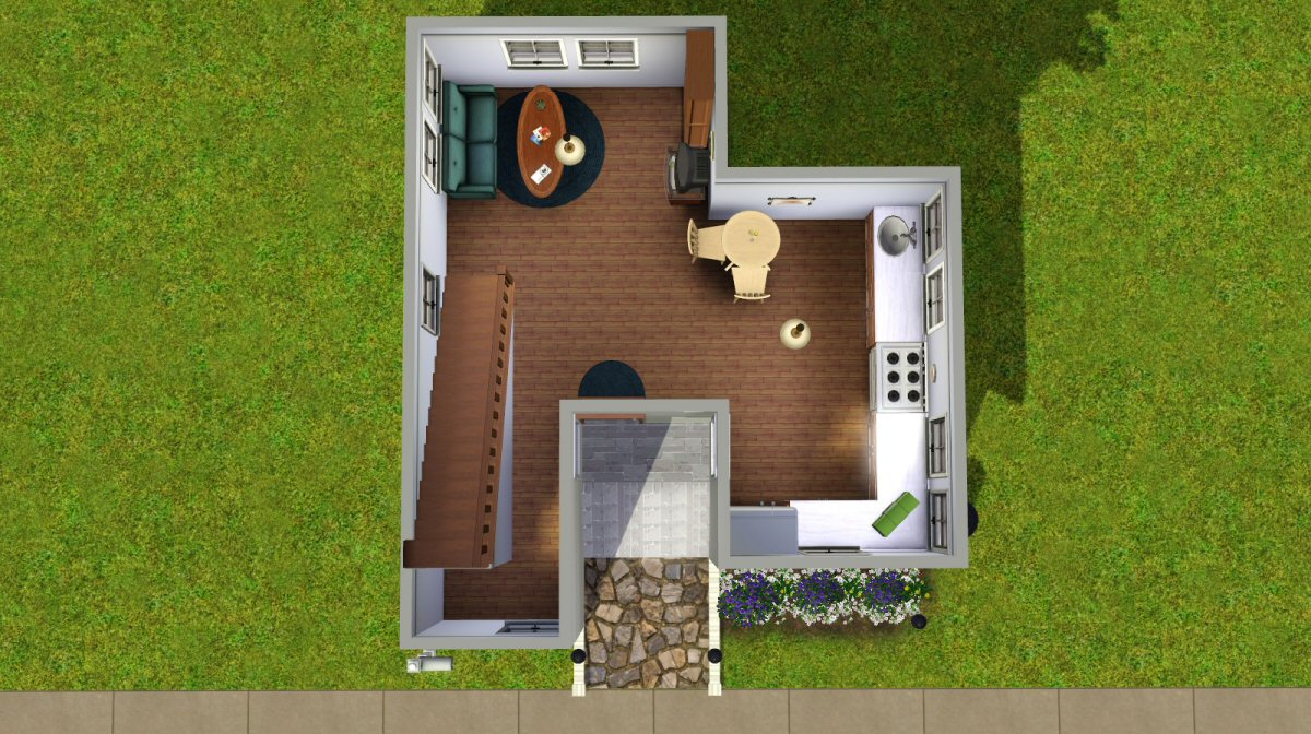 Mod the sims the basegame starter for Small starter homes