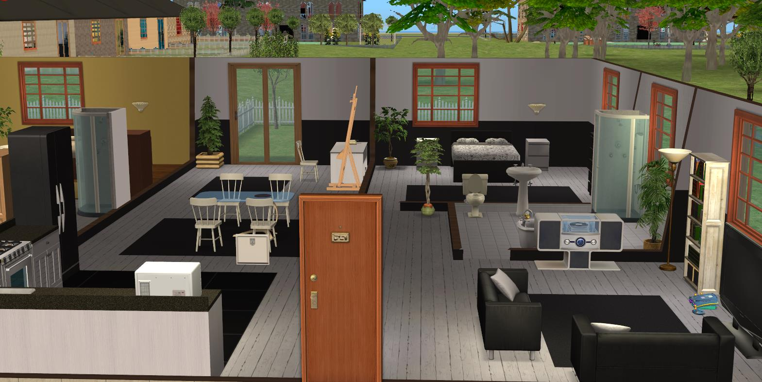 Mod the sims luxury apartments for Apartment design sims 3