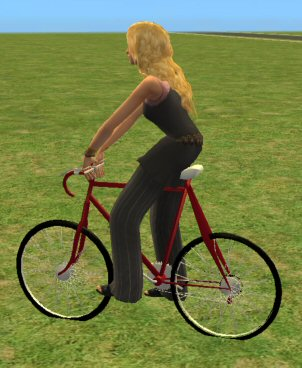 Mod The Sims - Animated Bike for Adults/Teens/Elders with Custom Animation ...