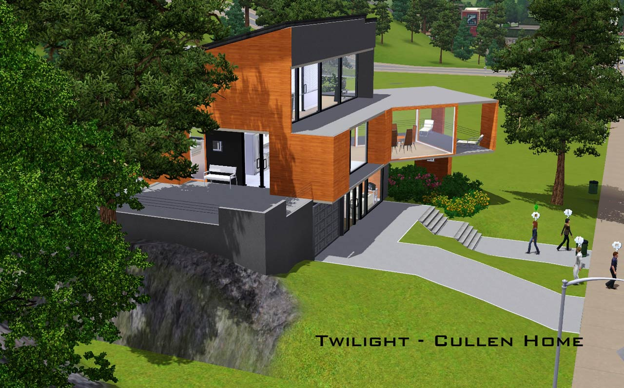 Mod The Sims Twilight The Cullen Home