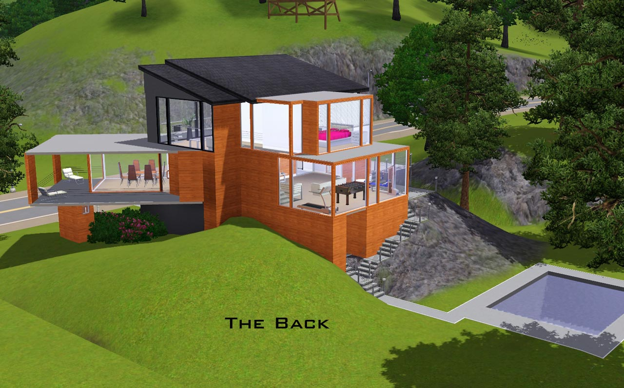 The Hoke House Floor Plan Mod The Sims Twilight The Cullen Home