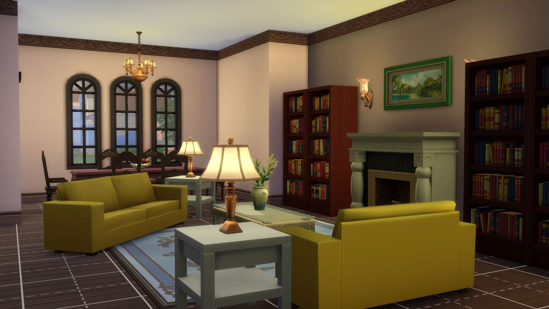 Mod The Sims - 4 Windsor Grove - 4 Bedroom Family Home