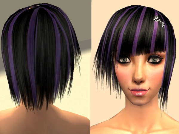 red hair with purple streaks at inspired blogs